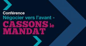 Conférence : Négocier vers l'avant - Cassons le mandat @ Fredericton Inn | Frédéricton | Nouveau-Brunswick | Canada