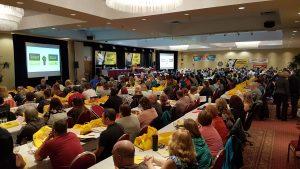 Congrès annuel du SCFP NB @ Fredericton Inn
