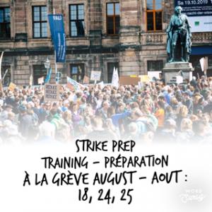 Atelier de préparation à la grève